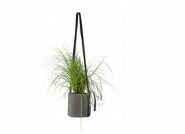 Bacsac Batyline Fabric Round Hanging Pot Grey Size 10 L - $39.41