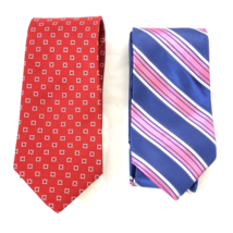 Tommy Hilfiger 100% Silk Made in the USA Lot of 2 Neck Ties - $14.96