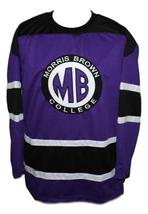 Martin Payne #23 Morris Brown College TV Show Hockey Jersey New Purple Any Size image 1