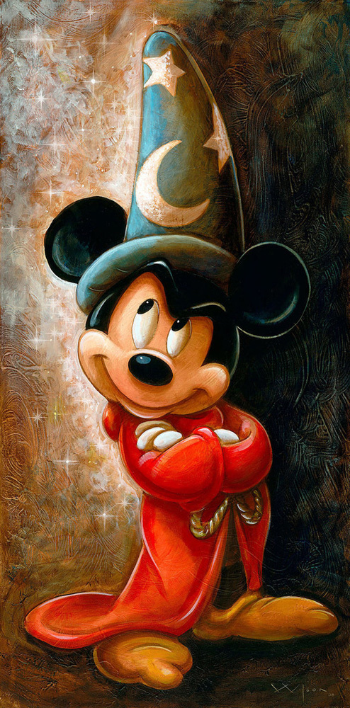 Disney Cartoon Series Art Oil Painting Print On Canvame s HoDecor  Mickey Mouse