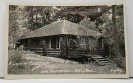 Ray Minnesota 1940s LAKE KABETOGAMA CABIN AT Moore's Lodge Photo Postcar... - $16.95
