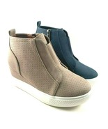 Wanted Dawson High Top Hidden Wedge Fashion Slip On Sneaker Choose Sz/Color - $51.20