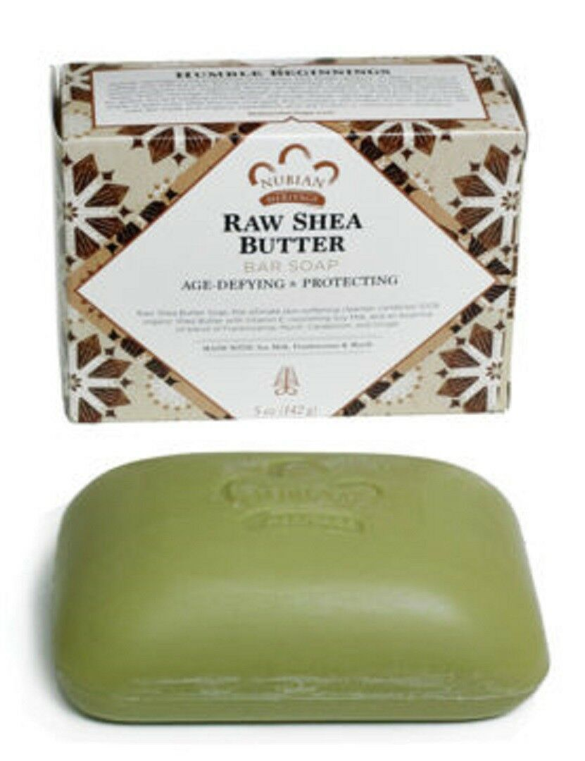 "Nubian Heritage ""Raw Shea Butter "" Bar Soap- Vitamins E  - 5oz, Shea Butter - $2.96"
