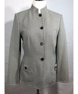 Calvin Klein stretch women's blazer buttons front long sleeve size 6 - $45.42