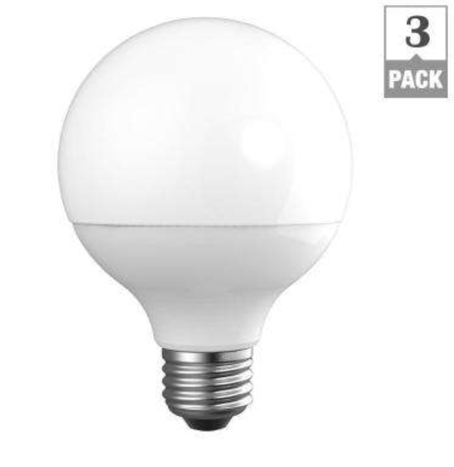 Newhouse Lighting 40w Equivalent Incandescent G25 Dimmable: EcoSmart 40W Equivalent Daylight G25 Frosted Globe
