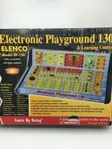 Elenco EP-130 Electronic Playground 130 & Learning Center new open box B49 - $42.06
