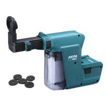 Makita DX02 Dust Extractor Extension for DHR243 Hammer Drill image 1