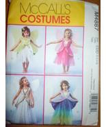 McCall's Children's & Girls Fairy Costumes Size 2-5 #M4887 Uncut - $4.99
