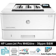 HP Laserjet M402DNE  Duplex Network  C5J91A  Plus extra tray D9P29A - $399.99