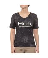 HUK Performance Fishing Gear Kryptek Icon Typhoon Women's L T-Shirt - $37.99