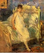 1886 Berthe Morisot Le Lever PEINTURE HUILE SUR TOILE - Poster Wall Art ... - $22.99+