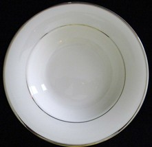 Mikasa Ultima Super Strong Cameo Platinum NEW Rimmed Soup Bowl FIne China - $11.60