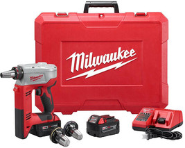 Milwaukee Cordless Expansion Tool Kit 3/8 in.- 1-1/2 in. 18-Volt Lithium-Ion - $786.79