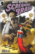 Man With The Screaming Brain #3 (2005) *Dark Horse Comics / Variant Cover* - $3.00