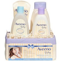 Aveeno Baby Daily Bathtime Solutions Gift Set to Nourish Skin for Baby a... - $26.89