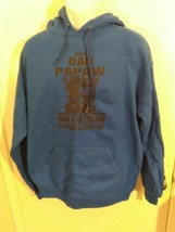 Mens Jerzees Blue Papaw Veteran Grandpa Gift Size L Large - $9.30