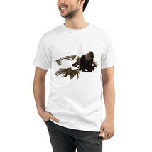 Hooded Sorrow Unisex Organic T-Shirt Eco Friendly Men and Women Sustainable - $31.00