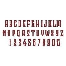 Sizzix Bigz XL Alphabet Die, Wonderland by Tim Holtz, Red - $46.99