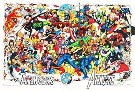 "Marvel Comics 20 x 30 Reproduction ""AVENGERS 30th Anniversary Poster"" - $45.00"