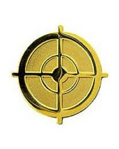 US Army Sniper Scope Cross Hairs Pin - $4.94