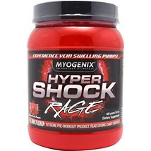 Myogenix - Hypershock Rage - Furious Fruit Punch, , 880 g powder - $34.64