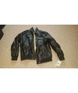 Levi's Men's Vintage Deer Faux Leather Sherpa Lined Aviator Bomber XL - $138.59
