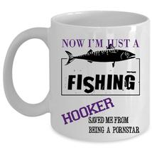 From Being Pornstar Coffee Mug, Now I'm Just A Hooker Cup - $17.99