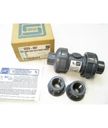 "Spears 2229-007 3/4"" PVC True Union Ball Check Valve Socket/Thread EPDM New - $18.79"