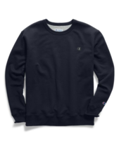 Champion Powerblend Men's Fleece Crew Long Sleeves Sweatshirt S0888 407D55 image 3