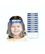 Kids Boys Girls Face Shield Reusable Washable Safety Clear Anti Fog Mask - $6.99