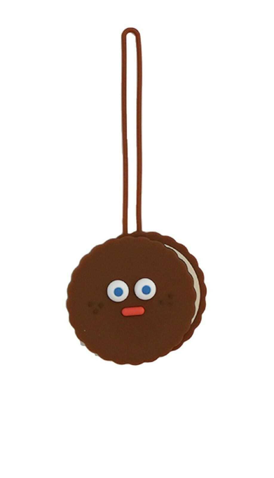 Brunch Brother Suitcase Luggage Tag Baggage Travel Bag Tag (Chocolate Cookie)