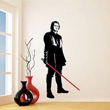(44'' x 87'') Star Wars Vinyl Wall Decal / Anakin Skywalker with Lightsaber Die  - $92.99