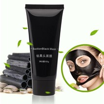 Black Mud Face Mask Blackhead Remover Deep Cleansing Peel Acne Treatment - $4.77