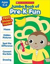Jumbo Book of Pre-K Fun Workbook [Paperback] Scholastic Teaching Resources - $4.95