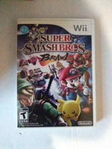 Super Smash Bros. Brawl Super Mario Nintendo Wii - Tested Complete With ... - $15.99