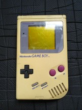 Vintage Original Nintendo Game Boy #DMG-01 Gray Hand Held Game 1989 Test... - $36.77