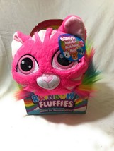 Rainbow Fluffies Pink Kitty Colorful Plush - 2 in 1 Stuffed Animal - $28.02