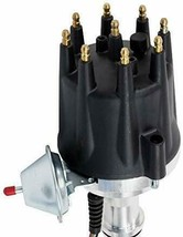 Pro Series R2R Distributor for Ford 351W Windsor, V8 Engine Black Cap image 2