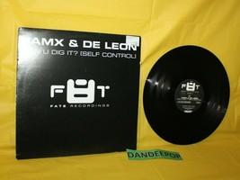 Jamx & De Leon Can U Dig It Self Control Fate Recordings Vinyl DJ Music ... - $14.84