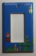 Super Mario brothers Games 8 bit Light Switch Outlet Wall Cover Plate Home Decor image 2