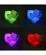 FREE Color Changing LED Elephant Night Light - $0.00