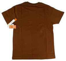 NEW NWT PAUL FRANK MEN'S ATHLETIC CLASSIC COTTON SHIRT T-SHIRT BROWN SIZE XS image 2