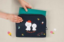 AntenaShop Boucle Bichon iPad Tablet Sleeve Pouch Bag Cover Case Korean Design image 4