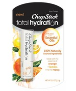 ChapStick Total Hydration Essential Oils Lip Balm Happy Orange + Lemon n... - $9.99