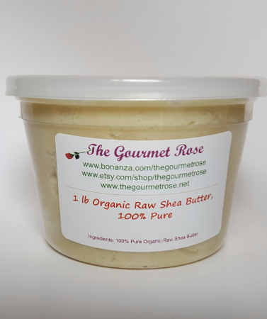 Primary image for 1 lb ORGANIC SHEA BUTTER UNREFINED Raw Natural Lotion Pure African Fair Trade