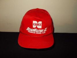 VTG-1990s Cenex Roadmaster XL Diesel Fuel Gas rope trucker snapback hat sku32 - $27.83