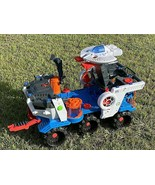 IMAGINEXT Fisher Price Supernova Battle Rover W/ Space Ship - WORKS GREA... - £68.01 GBP