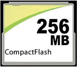 MemoryMasters 256MB CompactFlash Card - Standard Speed (p/n CF-256MB) - $7.76
