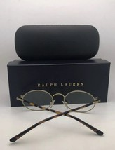 New POLO RALPH LAUREN Eyeglasses 2084 5001 51-18 140 Black & Pale Gold Frames - $239.98