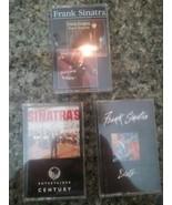 Lot 3 Frank Sinatra Cassette Tapes Duets Swinging Sensation Swing Easy V... - $9.89